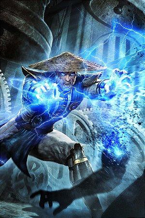 Quadro Gamer Mortal Kombat - Raiden