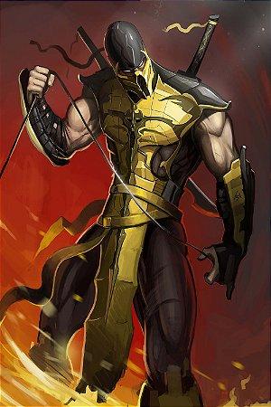 Quadro Gamer Mortal Kombat - Scorpion 10
