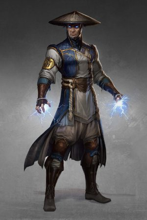 Quadro Gamer Mortal Kombat - Raiden 3