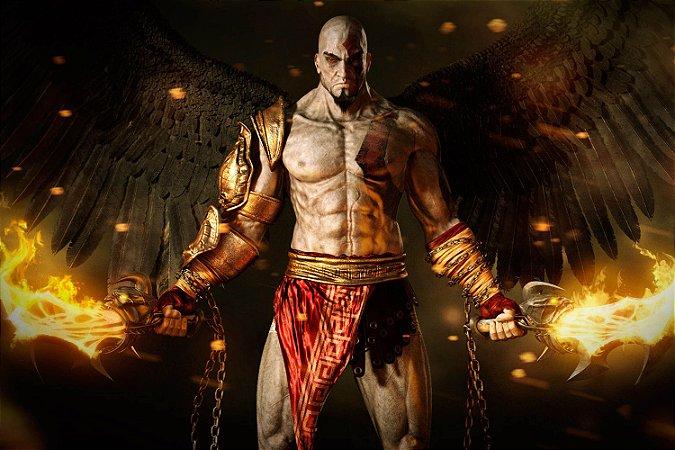 Quadro Gamer God of War - Kratos 4