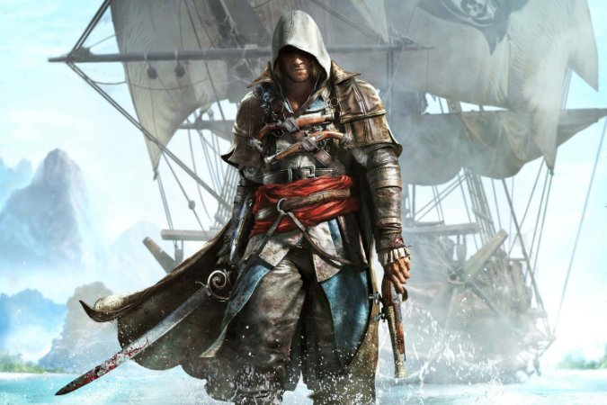 Quadro Gamer Assassin's Creed - Pirata 2