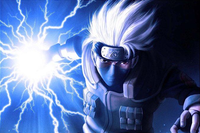 Quadro Naruto - Kakashi Chidori