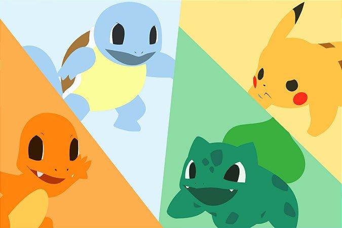 Quadro Pokémon - Desenho 2