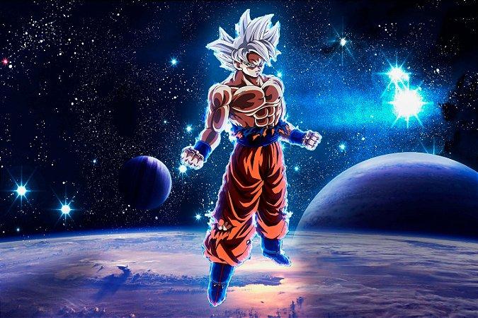 Quadro Dragon Ball - Goku Instinto Superior Dominado