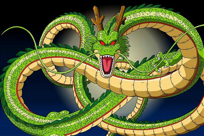 Quadro Dragon Ball - Shenlong Dragão das Esferas