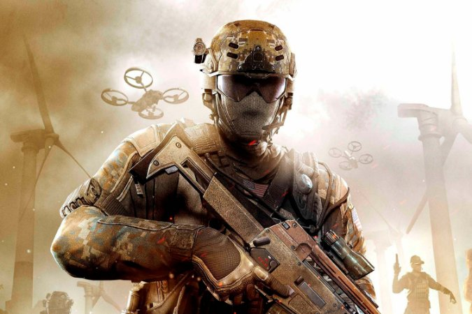 Quadro Gamer Call of Duty - Black Ops