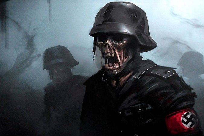Quadro Gamer Call of Duty - Zombies