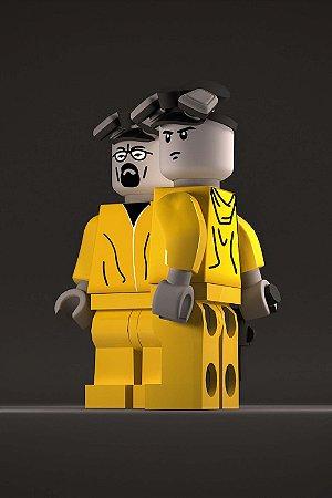 Quadro Breaking Bad - Lego