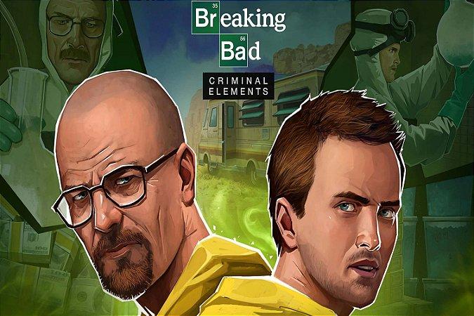 Quadro Breaking Bad - Walter e Jesse 3