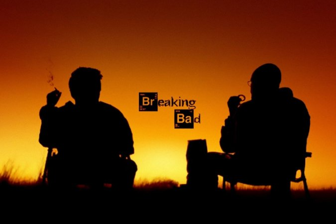 Quadro Breaking Bad - Por do Sol 2
