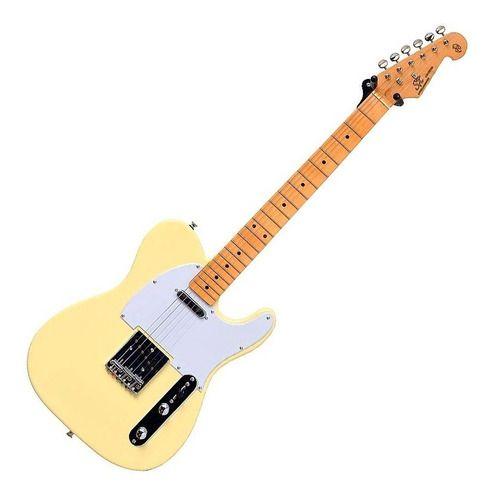 Guitarra Telecaster Sx Vintage 1950 Stl 50 Vwh Branca