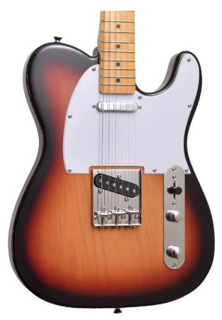 Guitarra Telecaster Sx Vintage 1950 Stl 50 3 Ts Sumburst