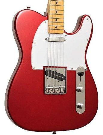 Guitarra Telecaster Sx Vintage 1950 Stl 50 Car Vermelha
