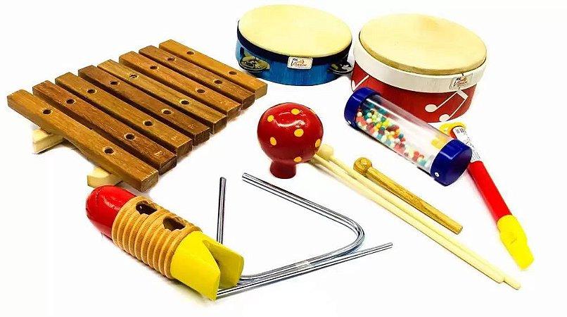Bandinha Ritmica Jog Music 8 Pc P 3661