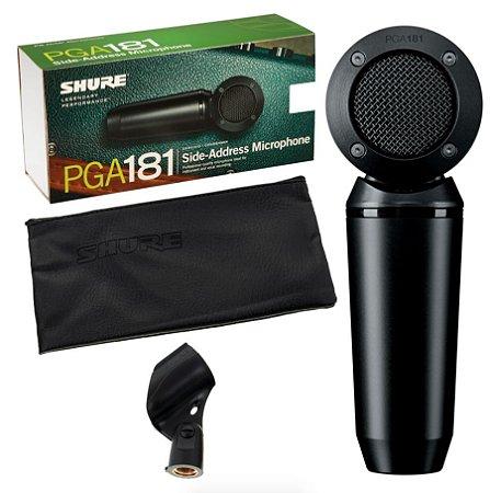 Microfone Condensador Shure Pga 181 Lc