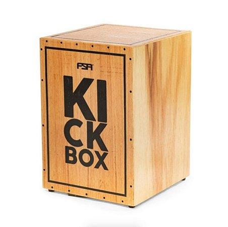 Cajon Eletrico Fsa Kick Box Fkb 01 Natural