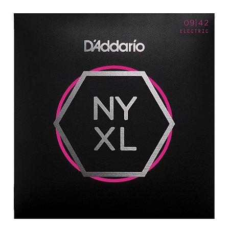 Encordoamento para Guitarra D'addario Ny Xl 09 0.09