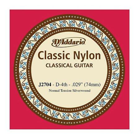 Corda Avulsa - RE de Violão de Nylon D'addario J 27/04