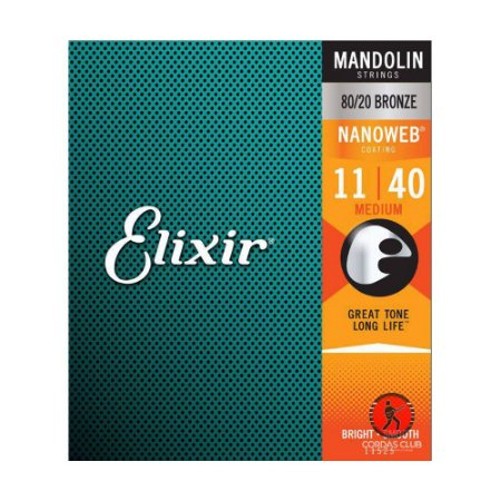 Encordoamento Bandolin 011 Elixir Medium - Showroom