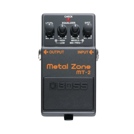 Pedal P/ Guitarra Boss Mt 2 Metal Zone