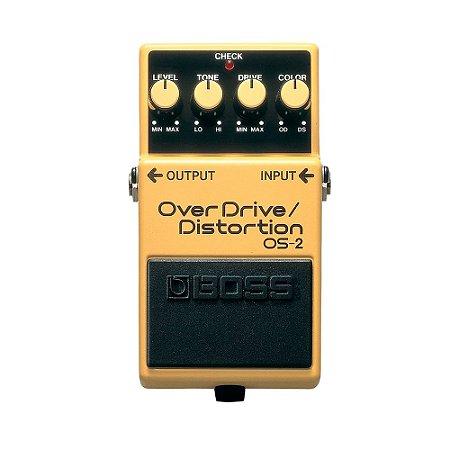 Pedal para Guitarra Boss Os 2 Over Drive