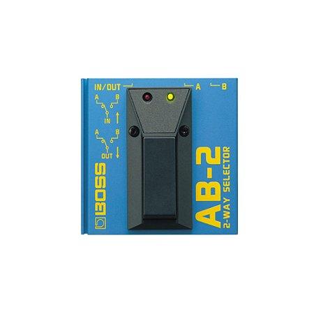 Pedal Foot Switch Boss Ab 2 Seletor