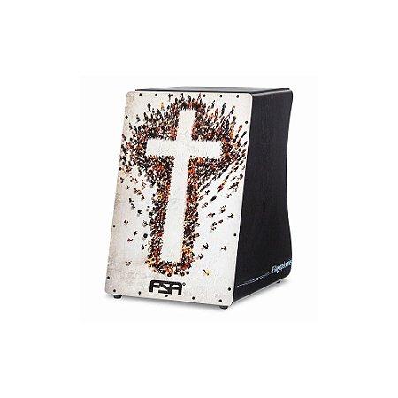 Cajon Eletrico Fsa Gospel Fg 1506 Cruz