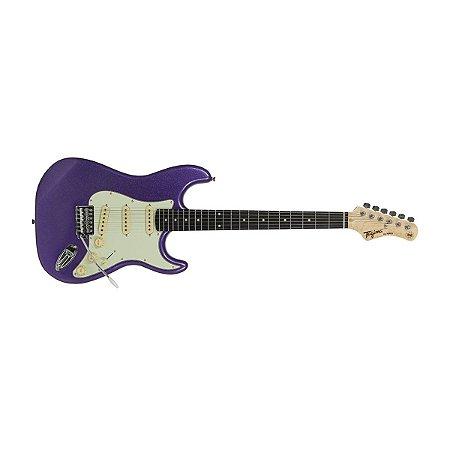 Guitarra Stratocaster Tagima Tg 500 Mpp Woodstock Metallic Purple