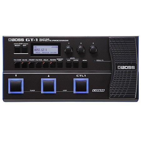 Pedaleira Gt 1 Boss Guitar Effects Processor