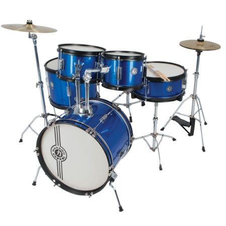 Bateria Nagano One Drum Junior Jbj 1049 Metalic Blue