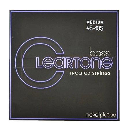 Encordoamento de Baixo Cleartone Nickel - 4 Cordas 045