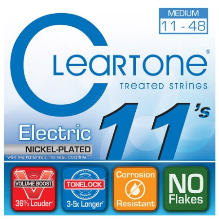 Encordoamento para Guitarra Cleartone 0.11 Medium