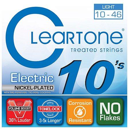 Encordoamento para Guitarra Cleartone 0.10 Light