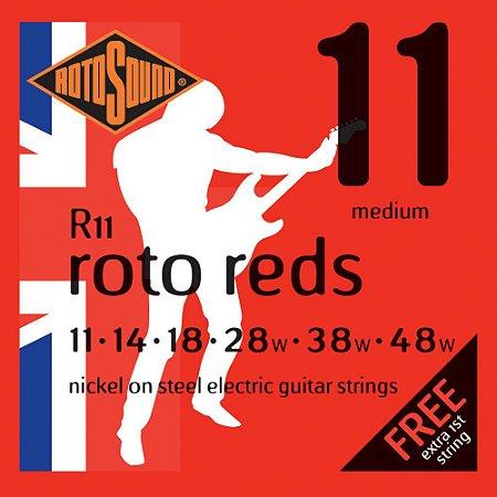 Encordoamento de Guitarra Rotosound 011 - R11