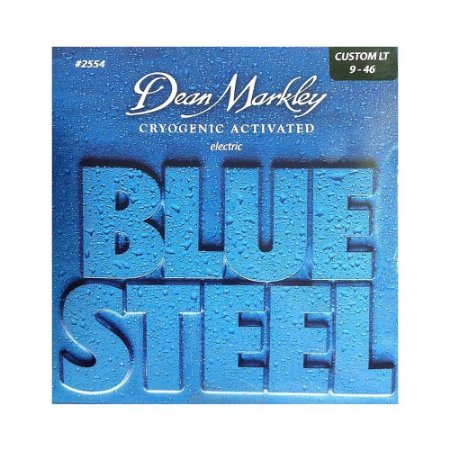 Encordoamento de Guitarra Dean Markley Blue Steel 009 Light