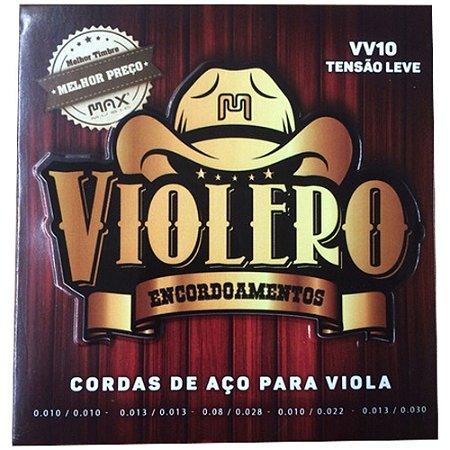Encordoamento de Viola Cebolão em Mi - Max Music Violero VV10 Leve