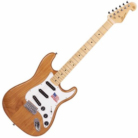 Guitarra Stratocaster Sx Sst Alder Na