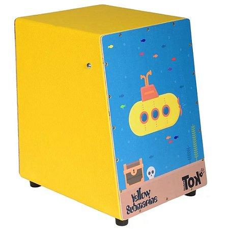 Cajon Nobre Tok Infantil Yellow Submarine 603