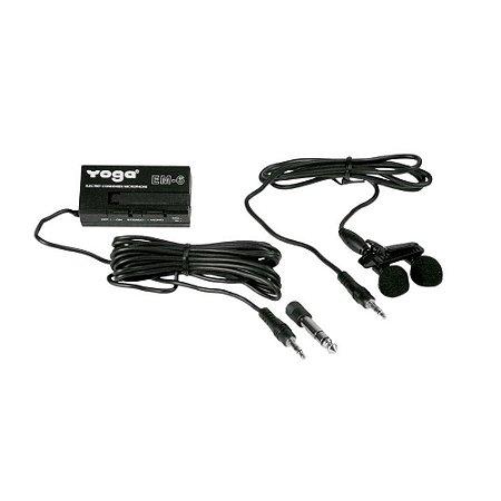 Microfone CSR Yoga EM 6 Lapela