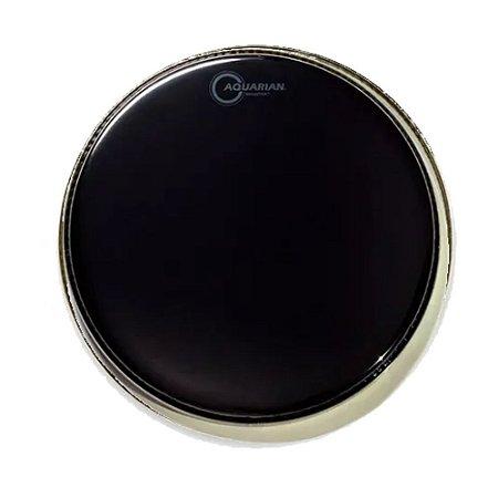 """Pele Aquarian 08"""" Ref 08 Reflector Preta"""