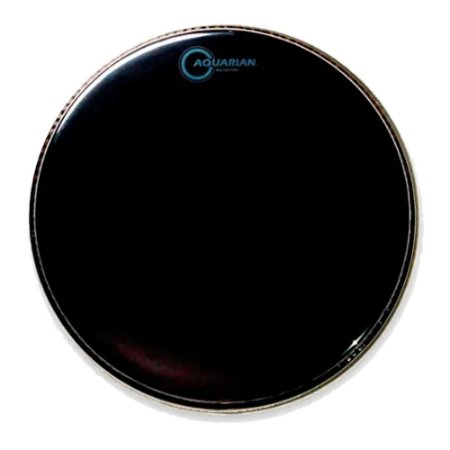 """Pele Aquarian 16"""" Ref 16 Reflector Preta"""