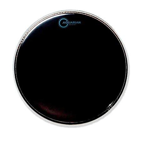 """Pele Aquarian 12"""" Ref 12 Reflector Preta"""