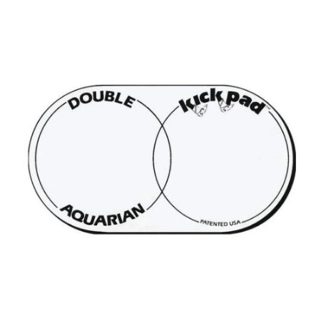 Adesivo para Bumbo Aquarian Double Kick Pad Dkp 2