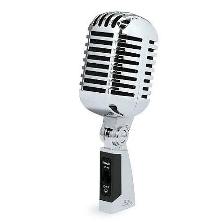 Microfone Stagg Vintage Sdmp 40 Cr