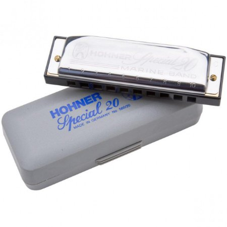 Kit Harmonica Special 20 - C, D, E, G, A - HOHNER