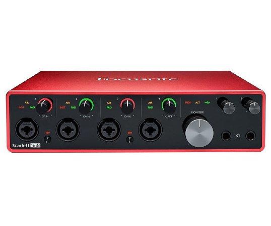Interface De Áudio Focusrite Scarlet 18i8 - 3RD GEN