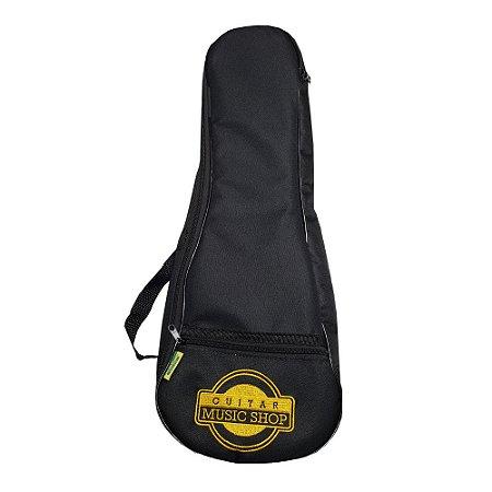 Bag para Ukulele Tenor Luxo Avs Bic 050 Ukt