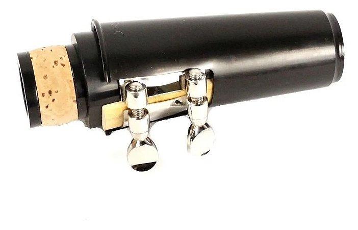 Boquilha Para Clarinete Kit Com Bracadeira Cobre
