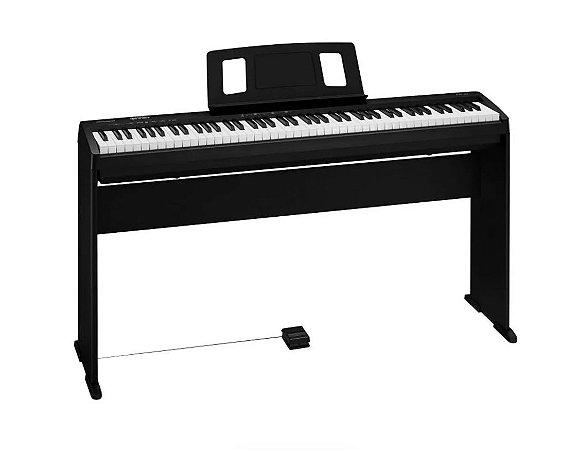Piano Digital Roland FP 10 com Móvel