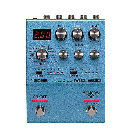 Pedal para Guitarra Boss MD 200 Modulation